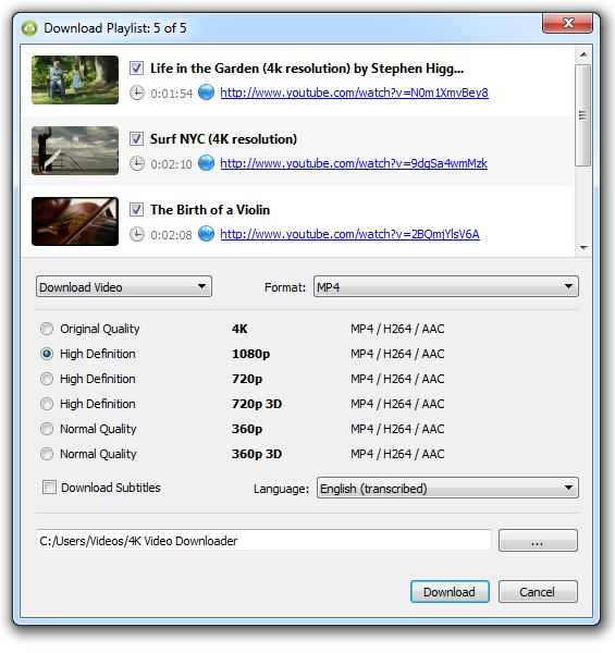 Как скачать видео с YouTube 3 способа - 4K Video Downloader