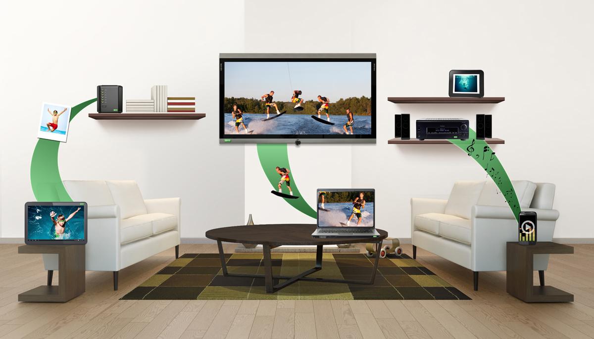 Как вывести изображение с планшета на телевизор 3 способа DLNA