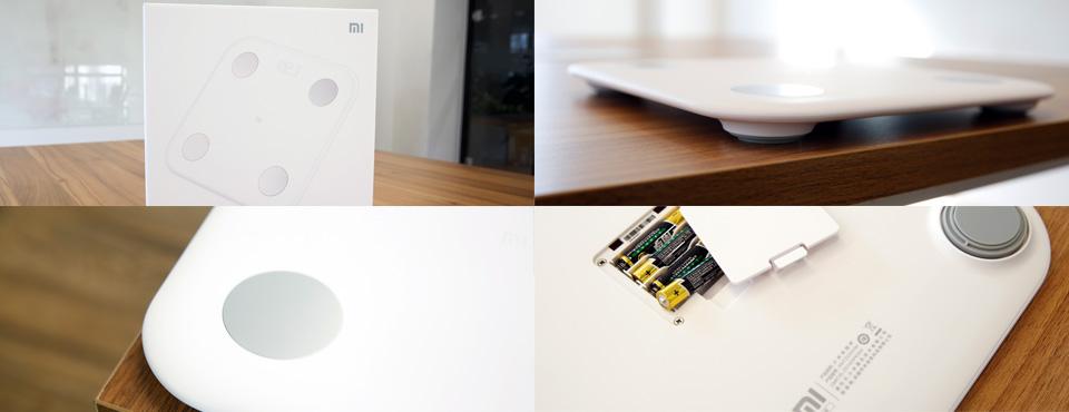Xiaomi Mi Smart Scale 2-дизайн ракурсы