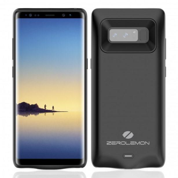 SlimPower - чехол-аккумулятор для Samsung Galaxy Note 8 емкостью 5500 мАч – фото 2