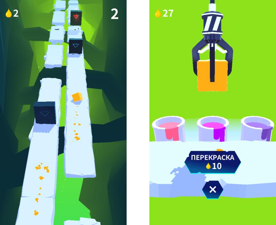 Топ-10 приложений для iOS и Android (16 - 22 октября) - Jelly Run (3)