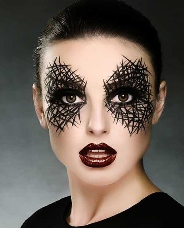 Подготовка к Хэллоуину-королева пауков