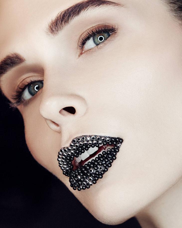 Икорные губы-тренд Instagram