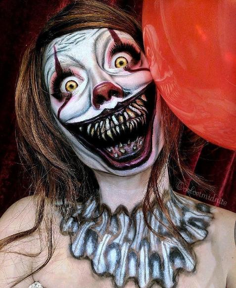 Halloween-образ клоуна