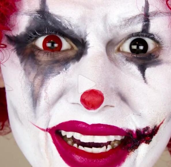 grimvideo-образ клоуна видео