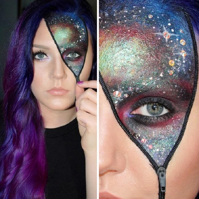 Идеи для Хэллоуина-космическая девушка
