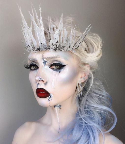 Halloween-образ белой королевы