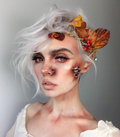 Halloween-образ лесной нимфы
