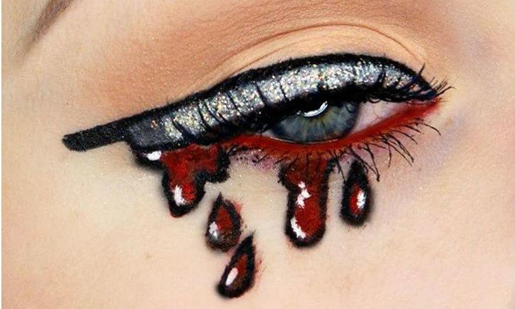 Кровавые стрелки-идеи для Хэллоуина фото 1