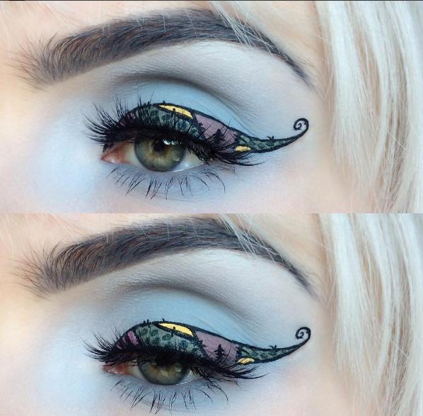 Halloween-Sally eyes