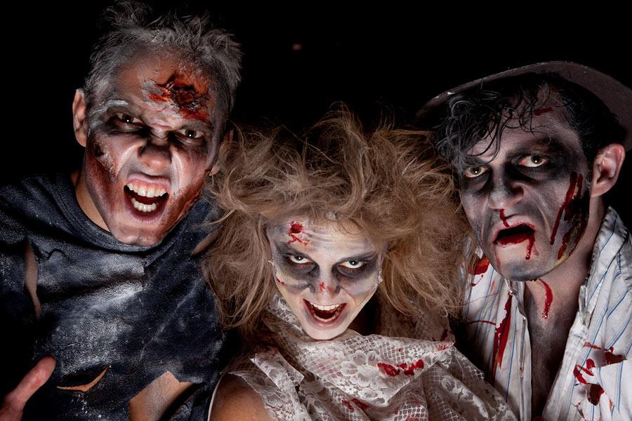 Хэллоуин-страшные костюмы