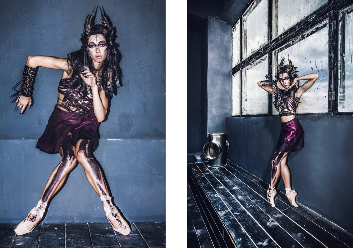 Екатерина Кухар-макияж в стиле voodoo фото 3