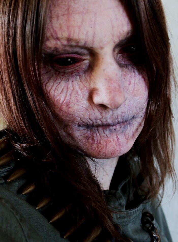 Идеи для Хэллоуина-образ старого вампира