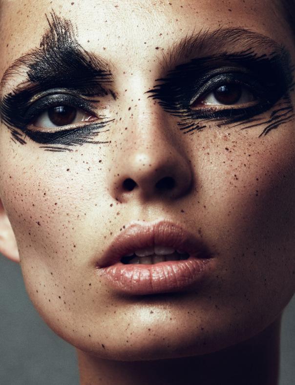 Идеи для Хэллоуина-мистический макияж