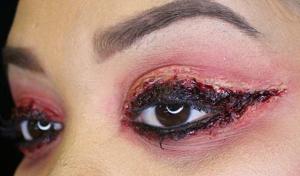 Кровавые стрелки-идеи для Хэллоуина фото 4