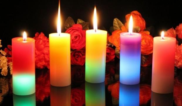 Счастье как тренд или Что такое жизнь в стиле хюгге – Цветные свечи