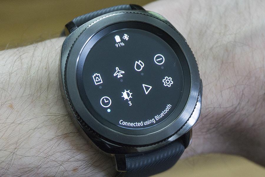 Программное обеспечение Samsung Gear Sport