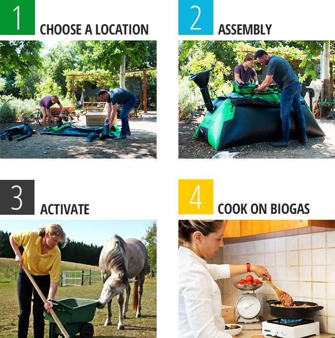 HomeBiogas 2.0 - установка для производства биогаза в домашних условиях - фото 4