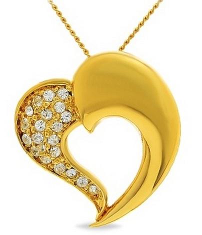 Лучшие идеи подарков для любимых в День Святого Валентина – кулон-сердце