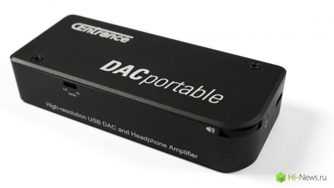 Browse portable DAC and headphone amplifier CEnrance DACPortable
