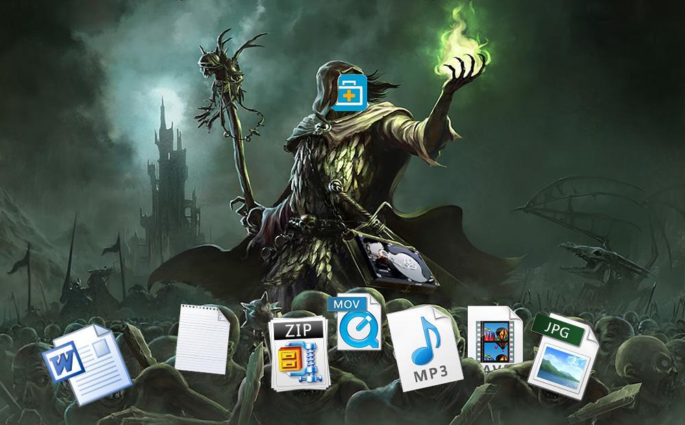 EaseUS Data Recovery — file necromancer