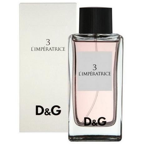 Незаменимый подарок маме на 8 марта – Парфюмерная вода Dolce & Gabbana Anthology L'Imperatrice 3