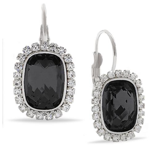 Незаменимый подарок маме на 8 марта – Серьги FABIA с кристаллами Swarovski