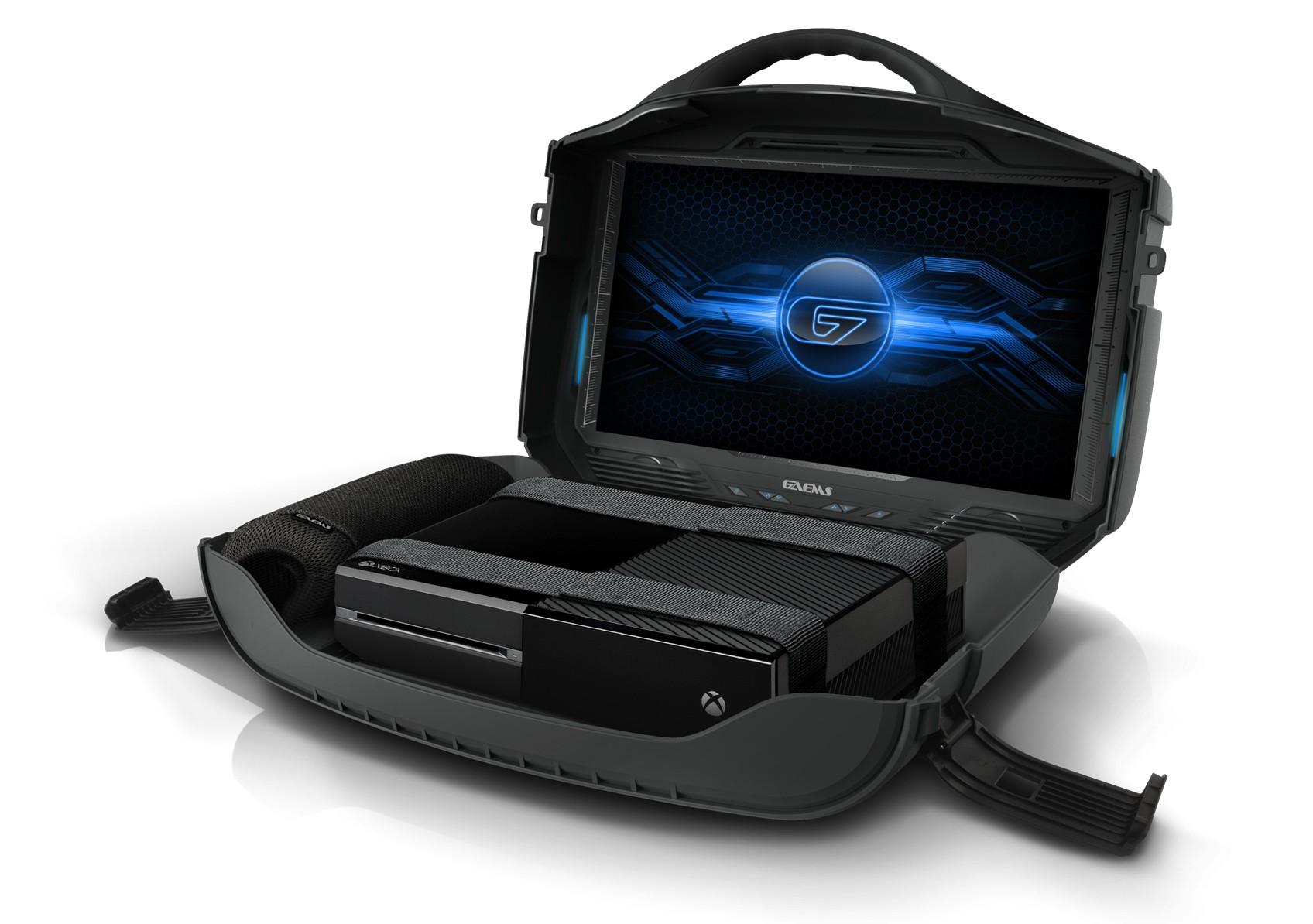 Gaems Vanguard — уникальный жесткий кейс для PS4 и систем Xbox – Gaems Vanguard сбоку