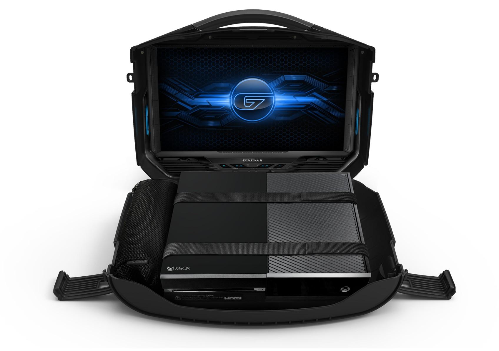 Gaems Vanguard — уникальный жесткий кейс для PS4 и систем Xbox – Gaems Vanguard открытый