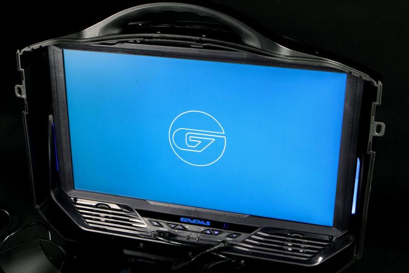 Gaems Vanguard — уникальный жесткий кейс для PS4 и систем Xbox – Gaems Vanguard включенный монитор