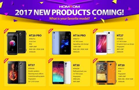 HomTom shares plans for 2017