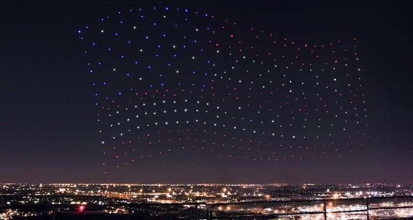 Lady Gaga made three hundred drones Intel