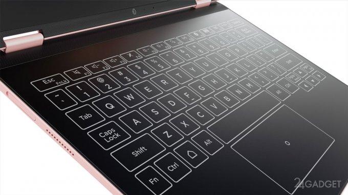 Lenovo Yoga A12 — бюджетная модификация Yoga Book (8 фото)
