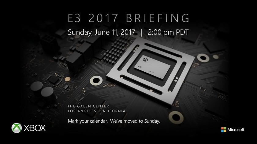 Microsoft will debut the Xbox Project Scorpio at E3 2017