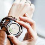 2058 Smart watch LG Watch Sport lit up in the benchmark Geekbench