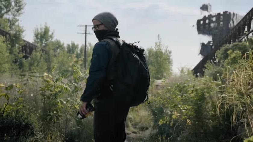 "The trailer of the series ""roadside picnic"" based on the Strugatsky"