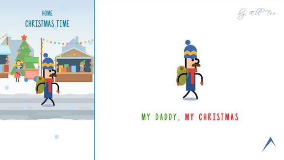 Топ-10 приложений для iOS и Android (13 - 19 февраля) - My Daddy, My Christmas