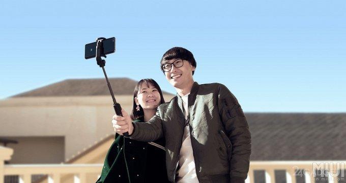 Xiaomi introduced the monopod transformer for a selfie (8 photos)