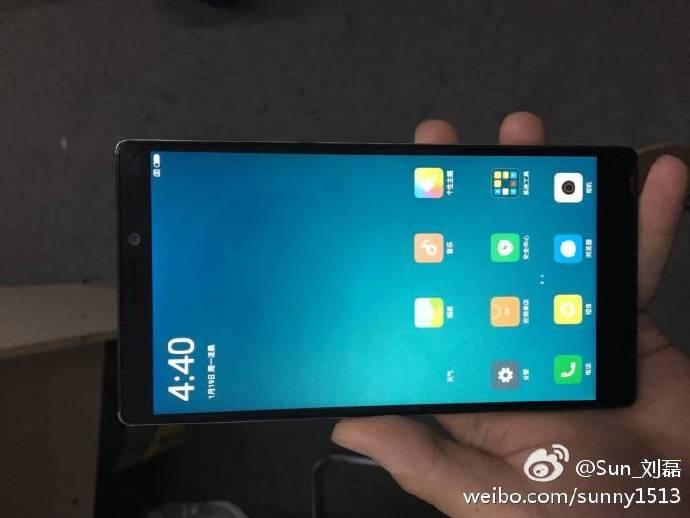 Xiaomi Mi 6 similar to frameless Mi Mix