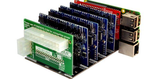 Atomo — replacement Arduino and modular electronic LEGO