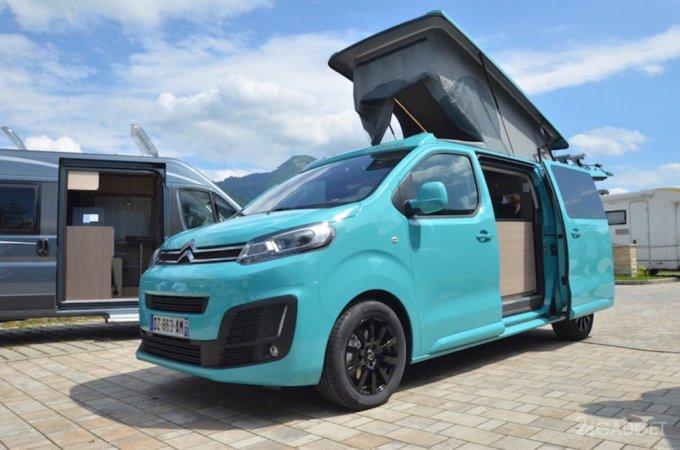 5924 Citroen has created a van for travel (24 photos)