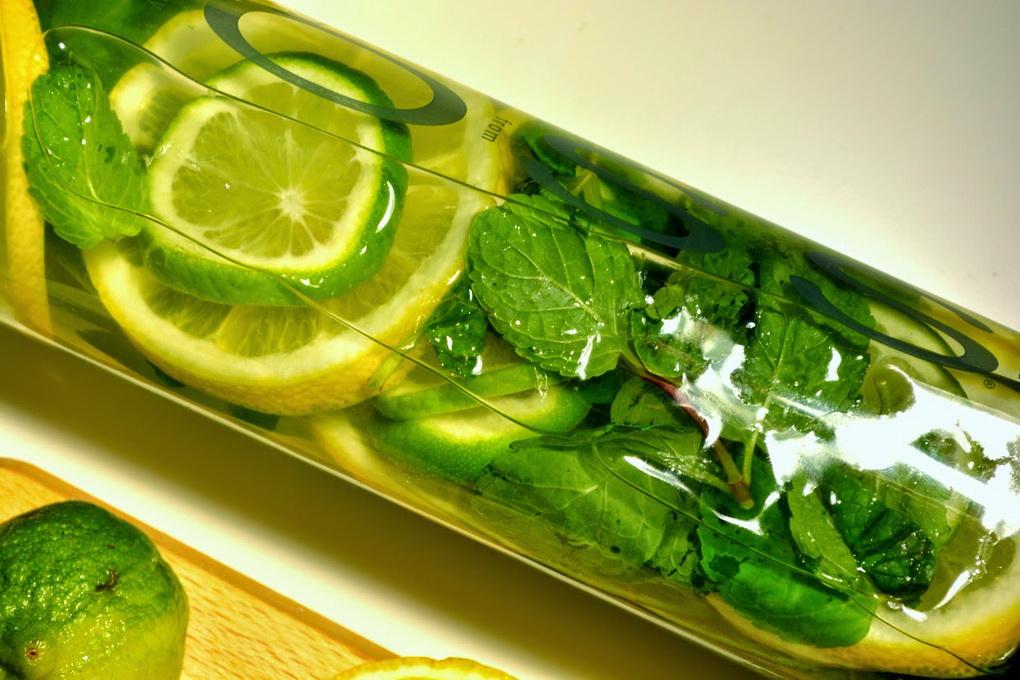 Огурец- Лимон-Мята-детокс-вода