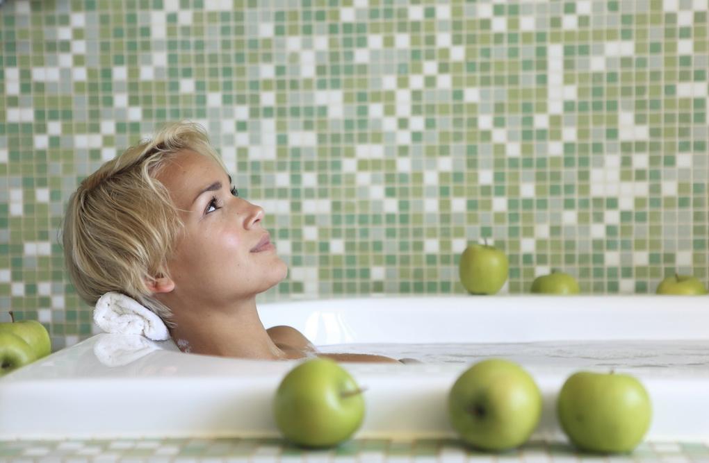 Расслабляющая ванна-фото