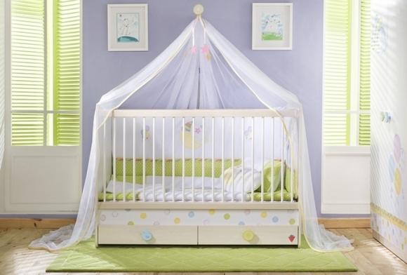 Как выбрать детскую кроватку – советы молодым родителям – Кроватка с палантином