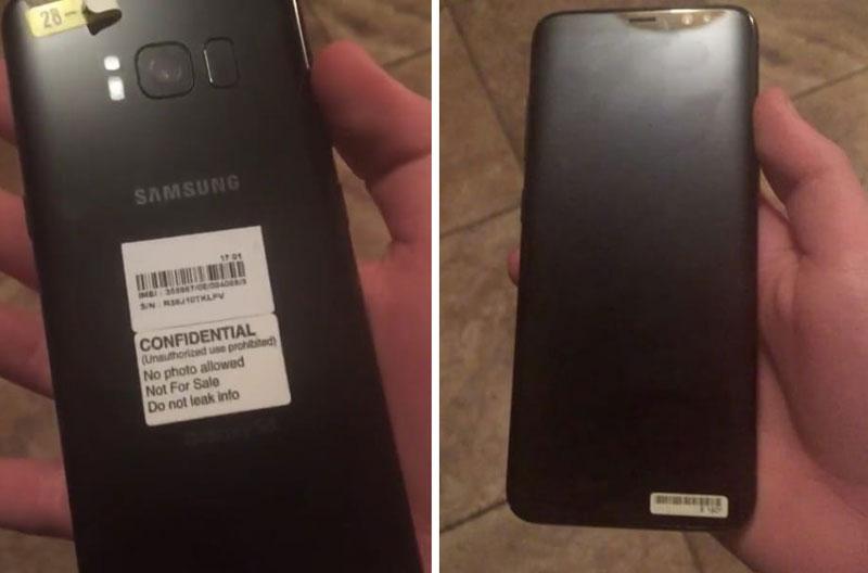 В сети появилась фотография тыльной стороны Samsung Galaxy S8
