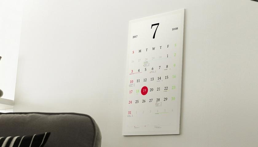 Magic Calendar: the smart calendar on the e-paper
