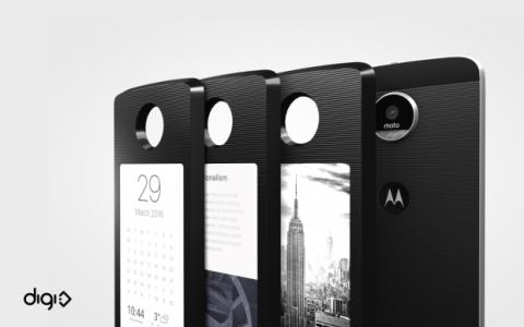 Module DigiFrame turns Moto Z YotaPhone