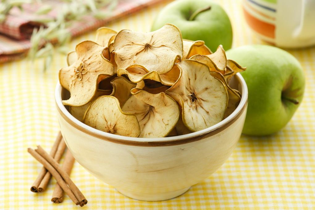 Яблочные чипсы-полезные снеки