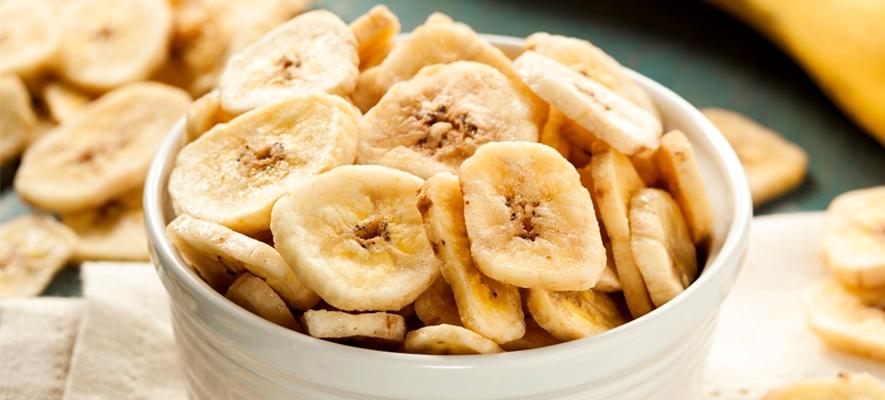 Банановые чипсы-фото