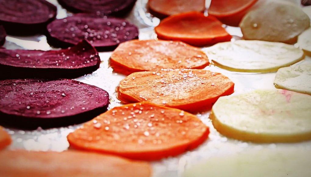 Овощные чипсы-как приготовить